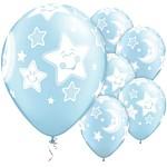 Ballong Stjerne og M�ne Bl�