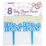 It's a Boy Cake Picks