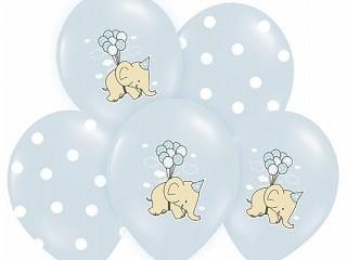 Ballong Elefant Bl�