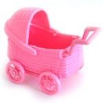 Babyvogn 2 pk Rosa