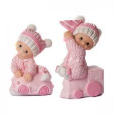 Babyfigur 10 cm Rosa