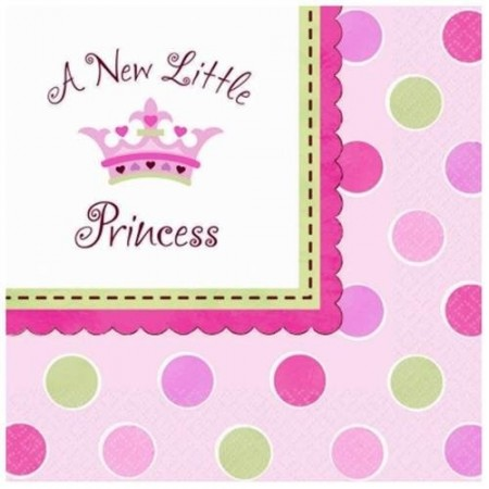 Servietter Little Princess