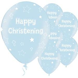 Ballong Happy Christening Bl�