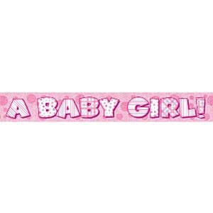 Banner Baby Girl NY