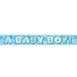 Banner Baby Boy NY