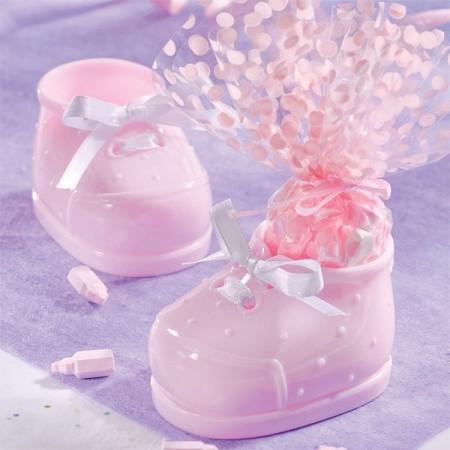 Babysko med cellofanpose Rosa
