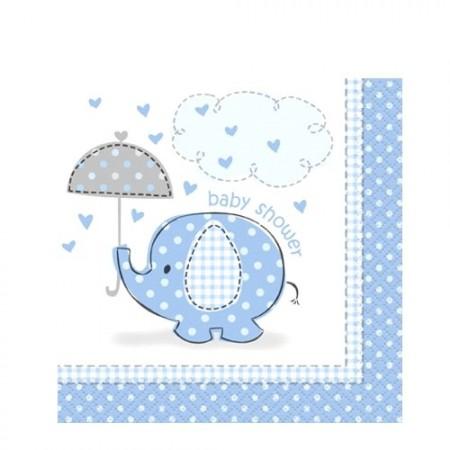 Servietter Elefant Bl�