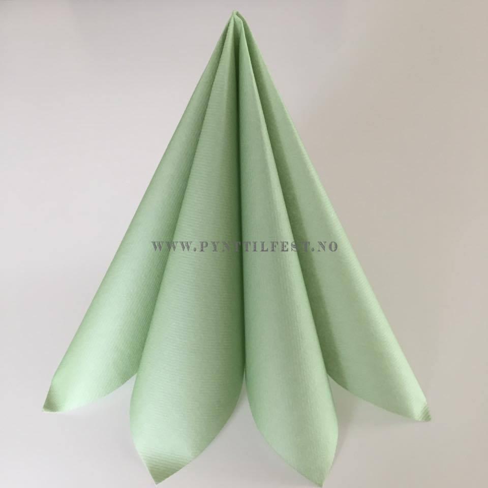 6a006e50 Servietter Textile Touch Opal Grønn 12 stk. 12 stk nydelige  middagsservietter. 40x40 cm.