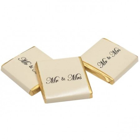 Mr & Mrs Gold Chocolate Neapolitans