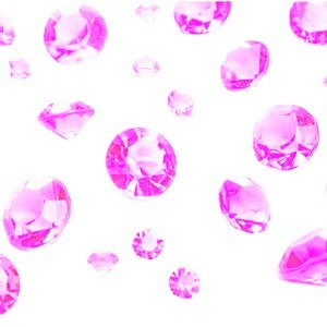 Diamanter 100 gram Rosa