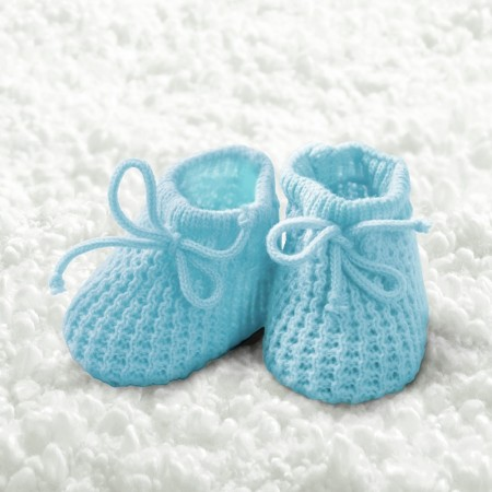 Serviett Baby Boy Booties Lunsj 20stk