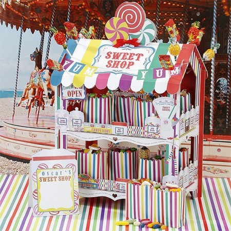 Sweet Shop Rainbow Treat Stand