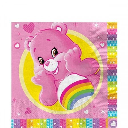 Care Bears 6 Servietter