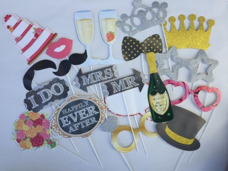 Photo Booth Wedding Kit 20 stk