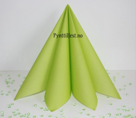 Servietter Textile Touch Lime 12stk