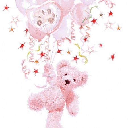 Servietter Teddy Rose Lunsj 20stk
