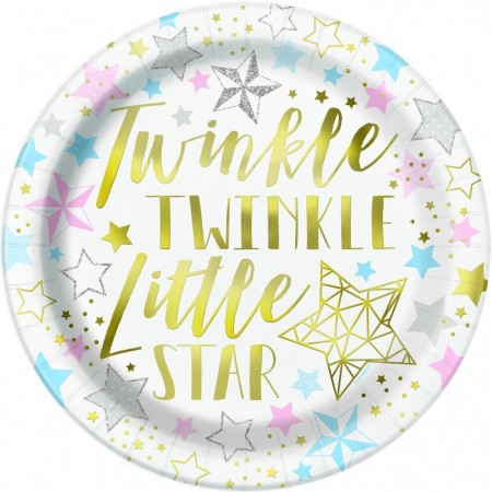 Twinkle Little Star Tallerkener 8stk