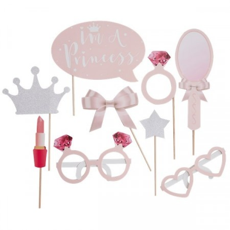 Photo Booth Props Princess Perfection