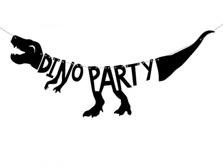 Banner Dinosaur Dino Party 20x90 cm PL