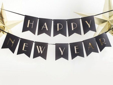 Banner Happy New Year 15x170cm