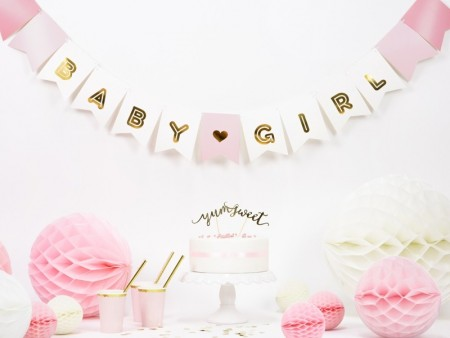 Banner Baby Girl mix PL15x175cm