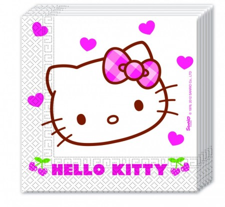 Hello Kitty Servietter 20 stk NY