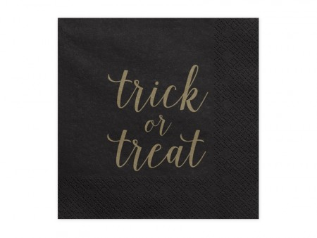 Servietter Trick or Treat 20 stk