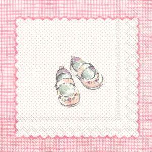 Servietter For My Little Baby Light Rose Kaffe 20 stk