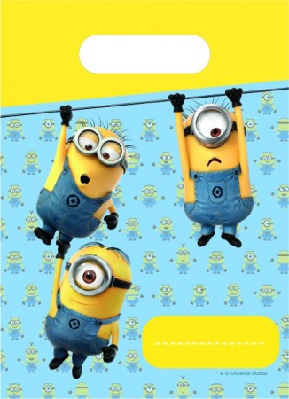 Minions2 Partyposer 6 stk