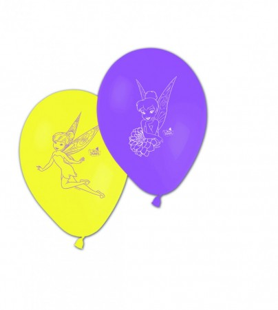 Fairies Magic Ballonger 8 stk