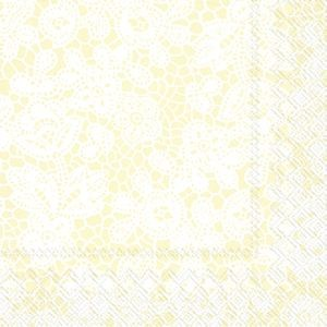 Servietter Pretty Lace Creme