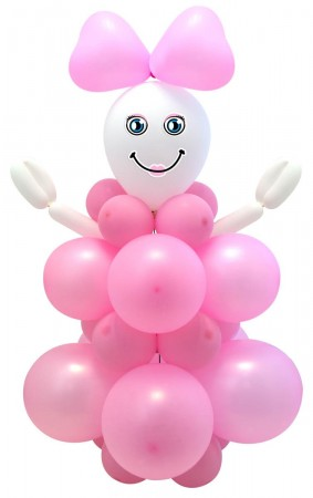 Ballong Kit Girl 95 cm