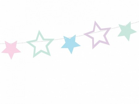 Garland Unicorn Stars 1.4m