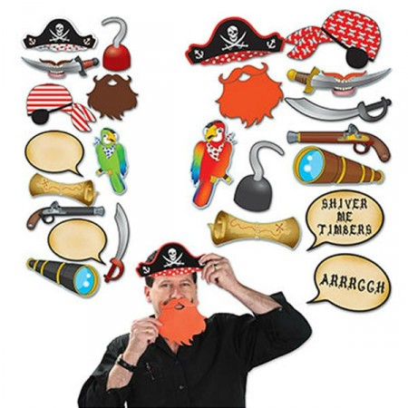 Pirate Photo Booth Props (12) DL