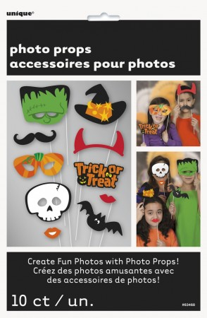 Photo Booth HALLOWEEN  10 stk
