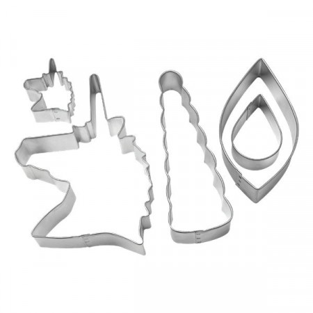 Cookie Cutter Enhjørning Decorating Kit 5stk