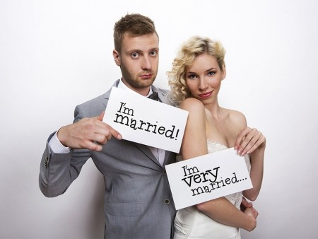 I´m married/ I´m very married Photo Prop