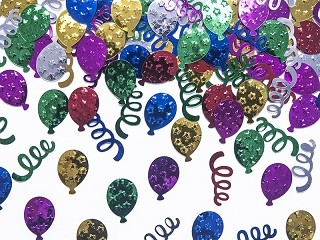 Confetti Metallic Party