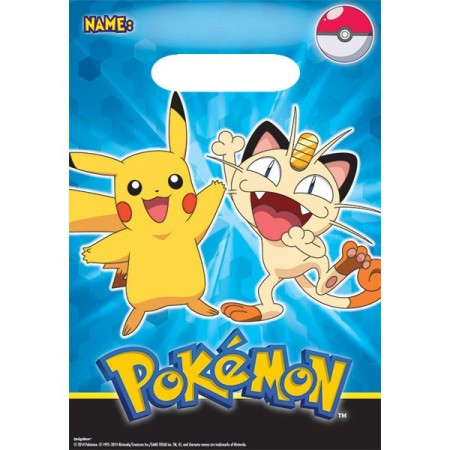 Pokèmon Bartybags 8 stk