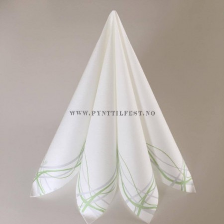 Servietter Textile Touch Liliane Lime