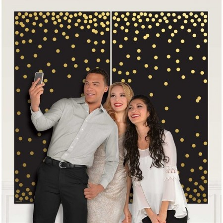 Photo Booth Dots Scene Setter