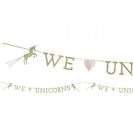 We Heart Unicorn Banner 3meter