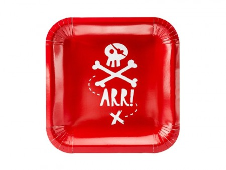 Pirates Party 20x20cm 6stk