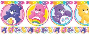 Care Bears Banner 1.6mx14.5cm 12 flagg
