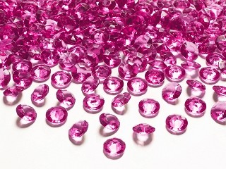 Krystaller 12mm 100stk DarkPink06