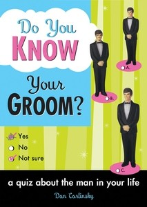 Spørrebok Do You Know Your Groom