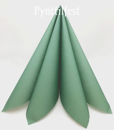 Servietter Textile Touch Dusty Green 12stk