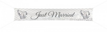 Banner Just Married 360x60cm