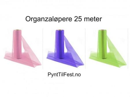 Organzaløpere 25 meter