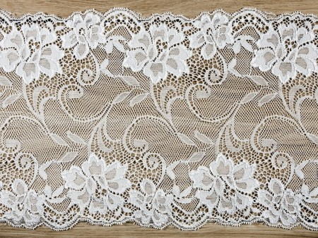 Bordløper Lace, off white 18cmx9meter